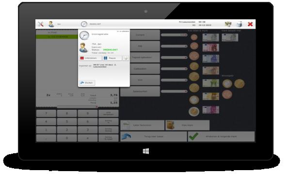 Screenshot tablet